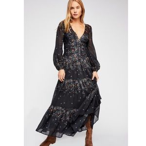 Free People All eyes on you maxi dress